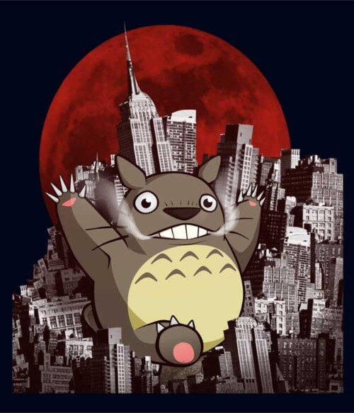 Destroyer Totoro Póló - My Neighbour Totoro - Fuchsworld