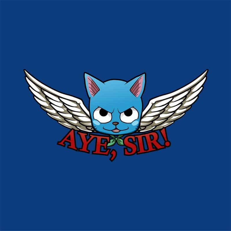 Aye Sir! Póló - Fairy Tail - Fuchsworld