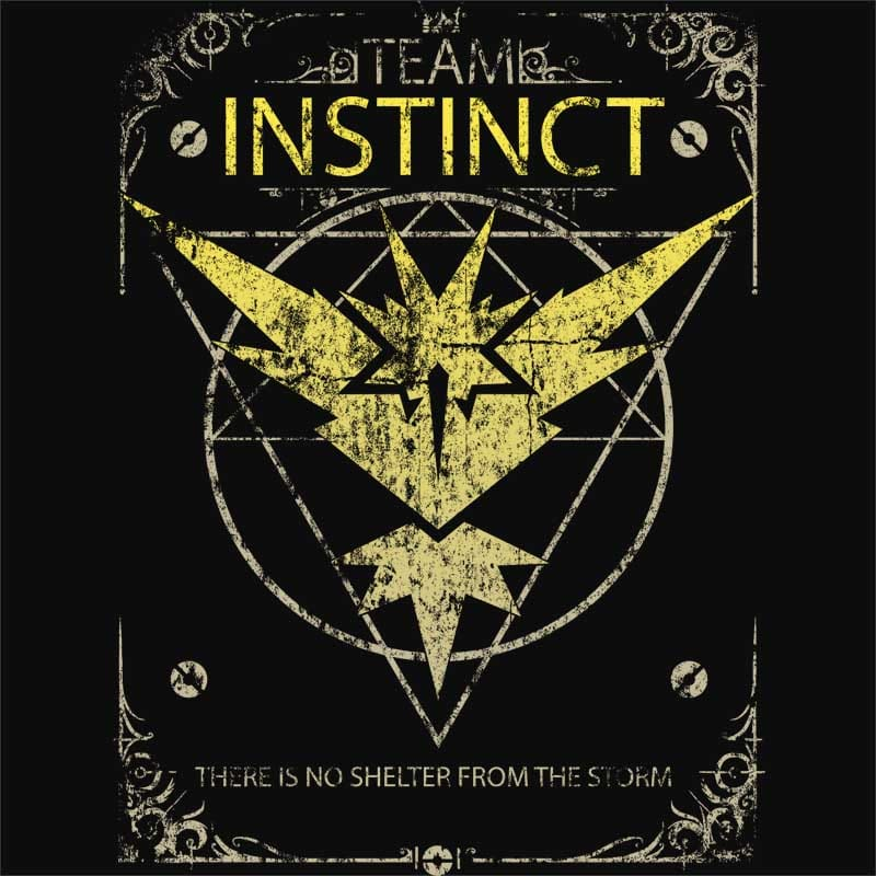 Team Instinct Póló - Pokemon - Naka