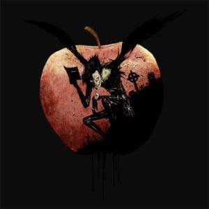 Apple Love Póló - Death Note - Naka