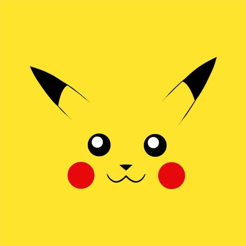 Pikachu face Póló - Pokemon