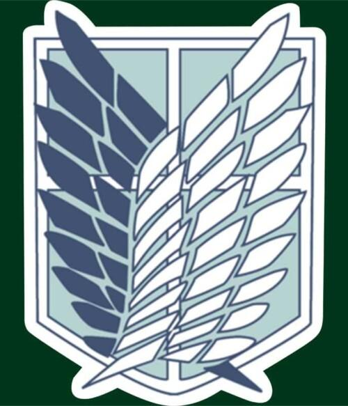 Scouting Legion logo Póló - Attack on Titan