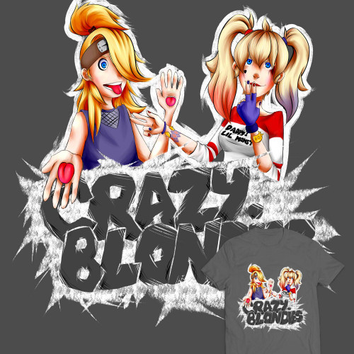 Crazy Blondies - Pólódesign Verseny