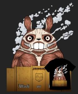 Attack on Totoro - Pólódesign Verseny