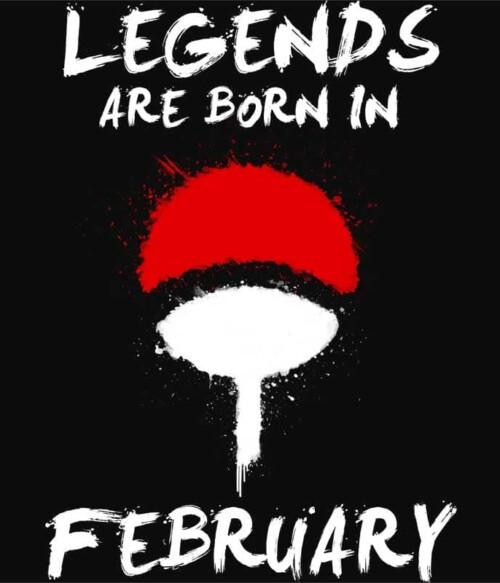 Uchiha Legends February Póló - Naruto