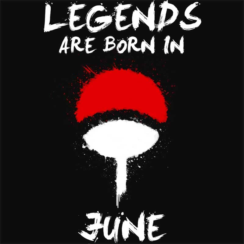 Uchiha Legends June Póló - Naruto