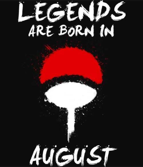 Uchiha Legends August Póló - Naruto