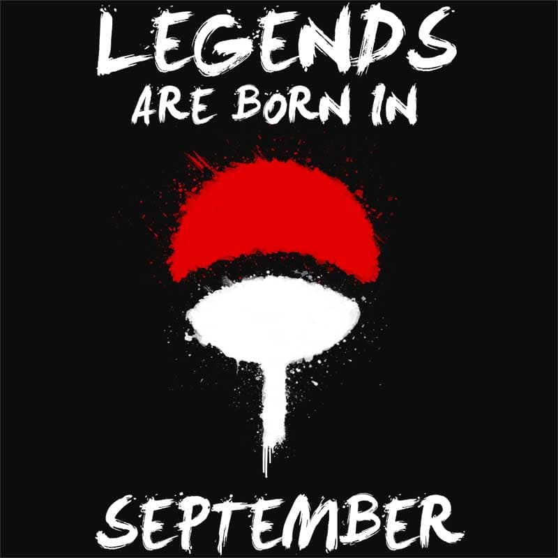 Uchiha Legends September Póló - Naruto