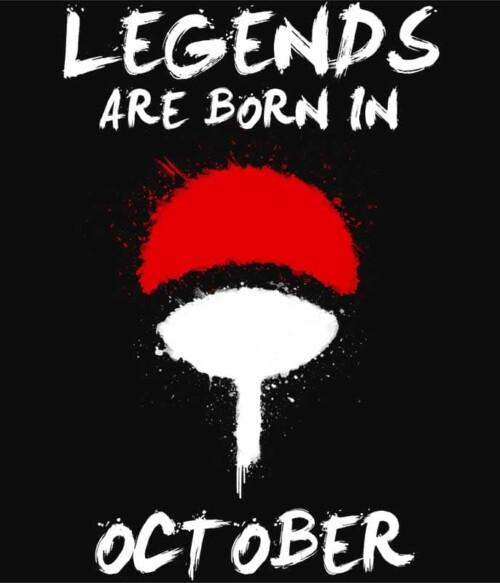 Uchiha Legends October Póló - Naruto