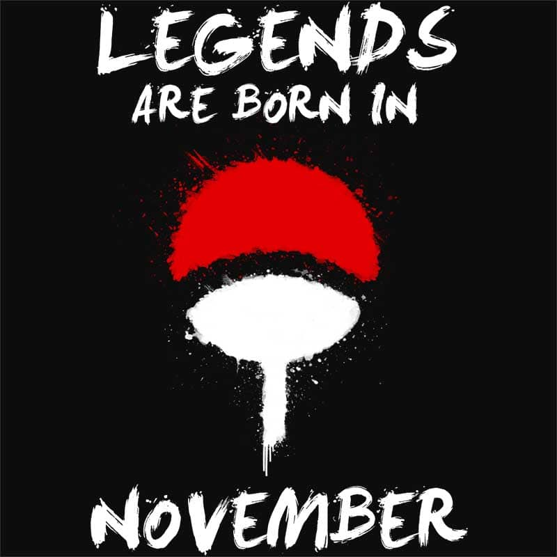 Uchiha Legends November Póló - Naruto