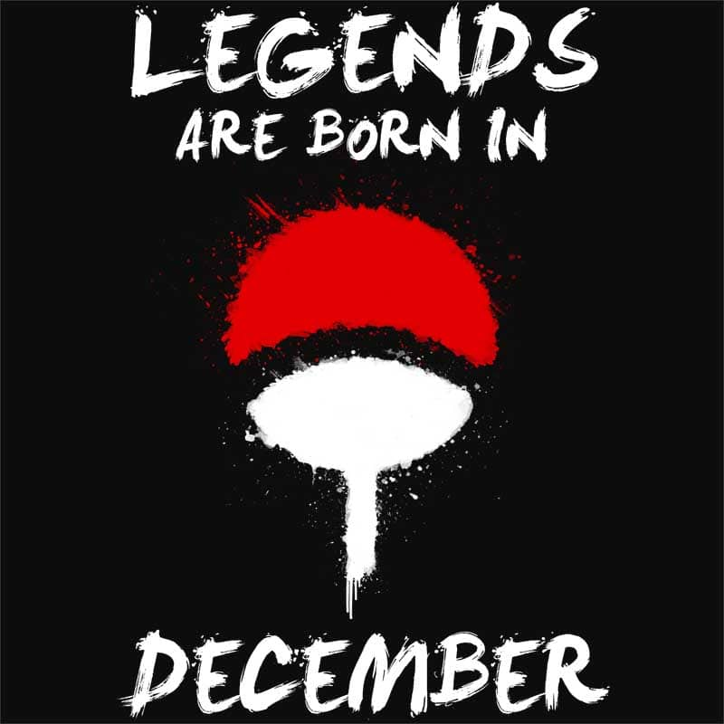 Uchiha Legends December Póló - Naruto