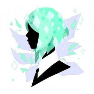 Shattered Póló - Land of the Lustrous - HikariKashay