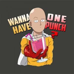 Wanna have One Punch? Póló - One Punch Man - Macy